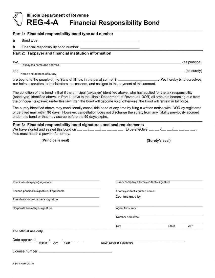 Illinois Liquor Financial Responsibility Bond Lastwill Lastwillandtestamentforms Willforms Financial Responsibility Resume Examples Good Resume Examples