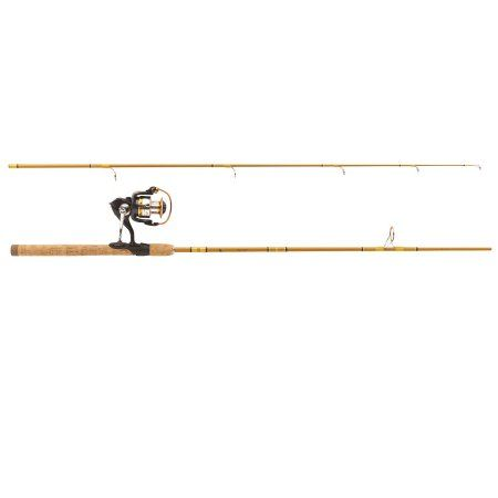 Eagle Claw Crafted Glass Spinning Rod 2 Piece, Multicolor