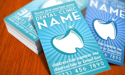 17 Best images about Business Card Dentist on Pinterest | Creative ...