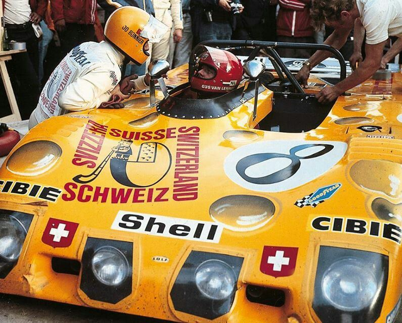 LM '72 driving shift for the Lola T280 8 and Jo Bonnier