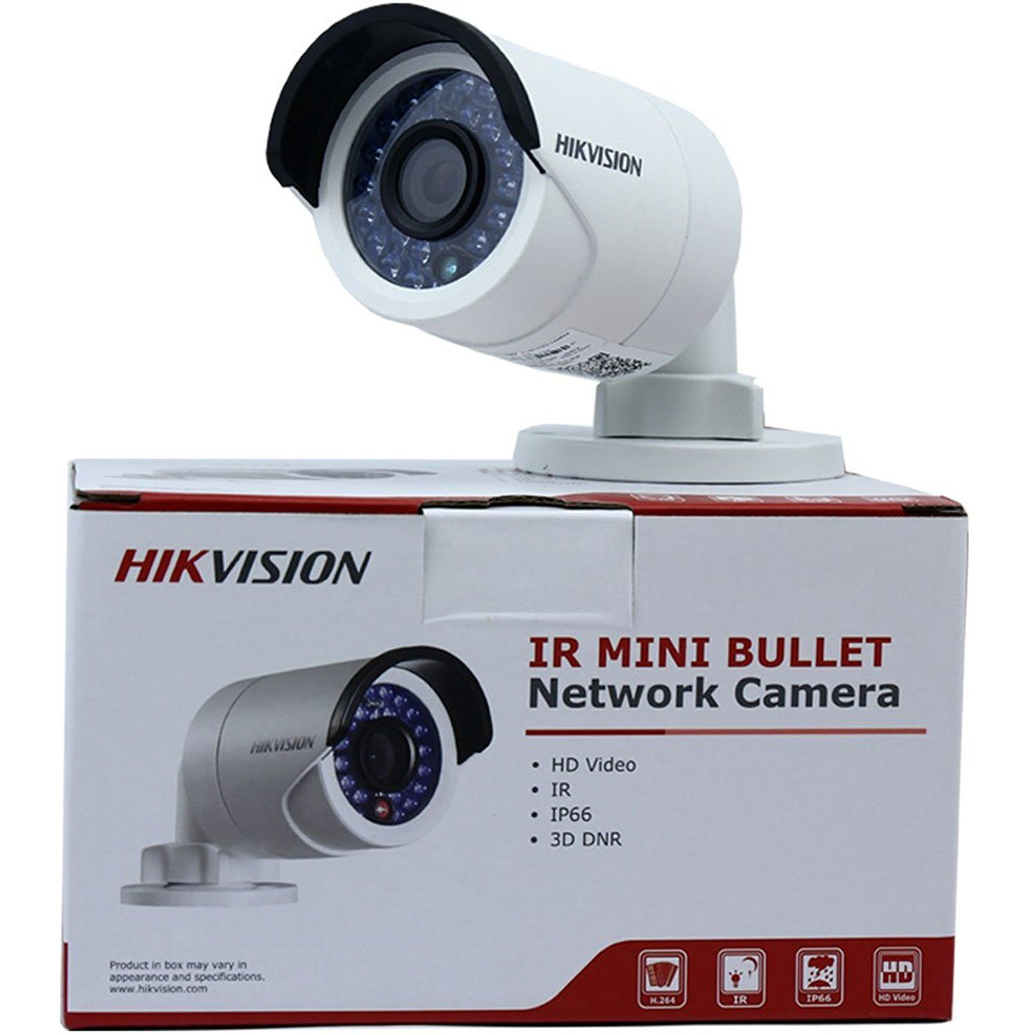 Hikvision Ds 2cd2042wd I 4mp Ir Bullet Network Camera Poe Day Night Vision Ip66 Waterproof Hd Security Camera Installation Home Security Home Security Systems