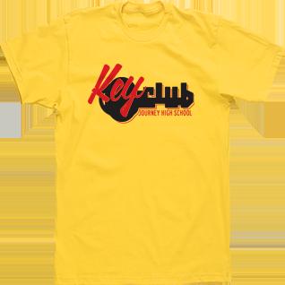 Custom Tshirt Design Image Market Key Club T shirt logo