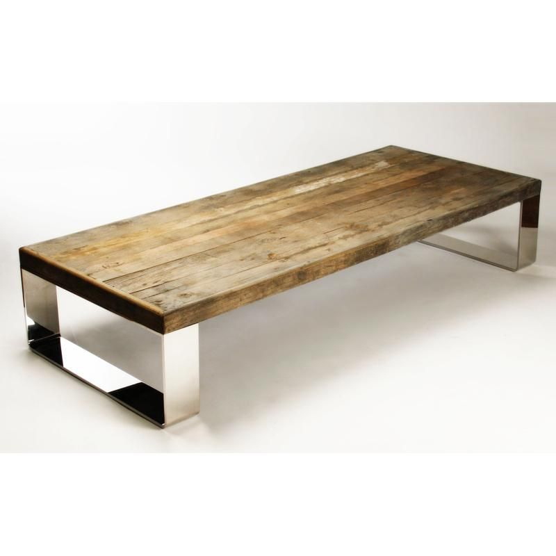 Worley Coffee Table: Darren Coffee Table By Zentique Wood Top: Untouched
