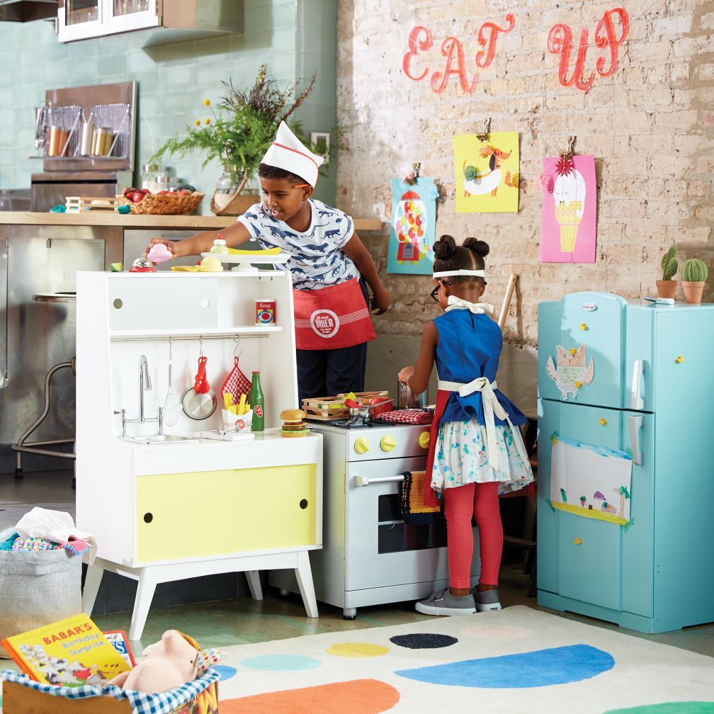 Future Foodie Play Kitchen Set | The Land of Nod | Laney ...
