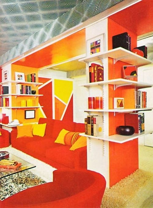 1970s interior design vintage living rooms pinterest for 1970s living room interior design