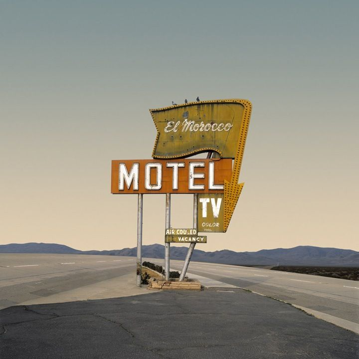 "Part of Ed Freeman's ""Desert Realty and Urban Realty"" architectural series. Produced through computer manipulation of original photography, to make ordinary structures appear to be in the middle of nowhere."