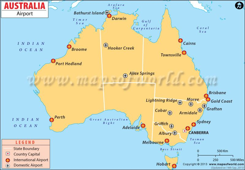 Map Of Australia Showing Perth.Map Of Airports In Australia Maps In 2019 Australia Map