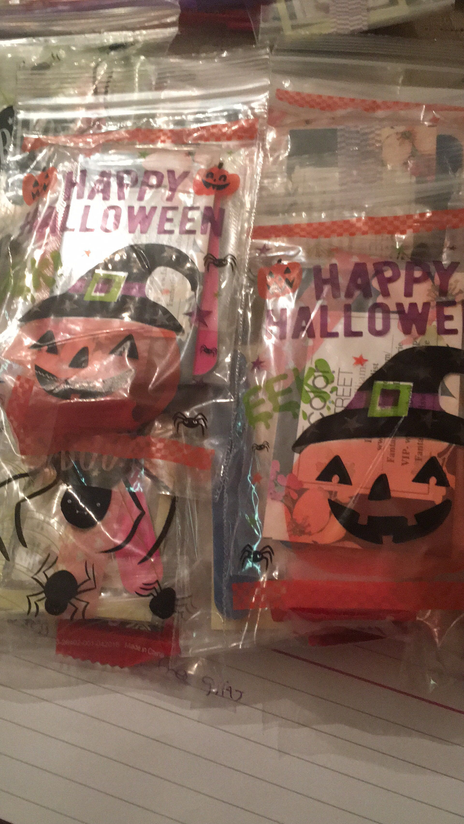 Send me Samples!! Halloween bags, Halloween goodie bags