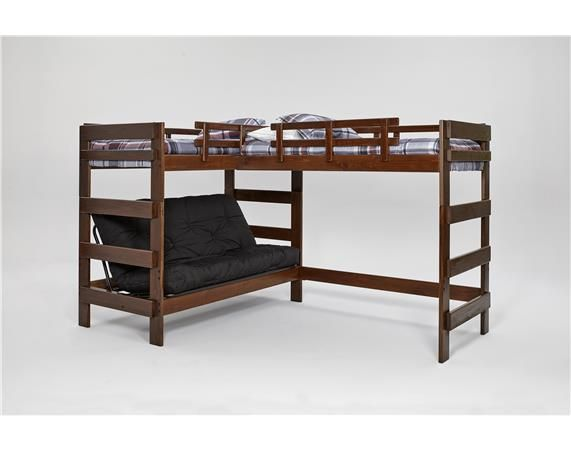 Best Heartland L Shaped Futon Triple Bunk Bed Xlf6200 400 x 300