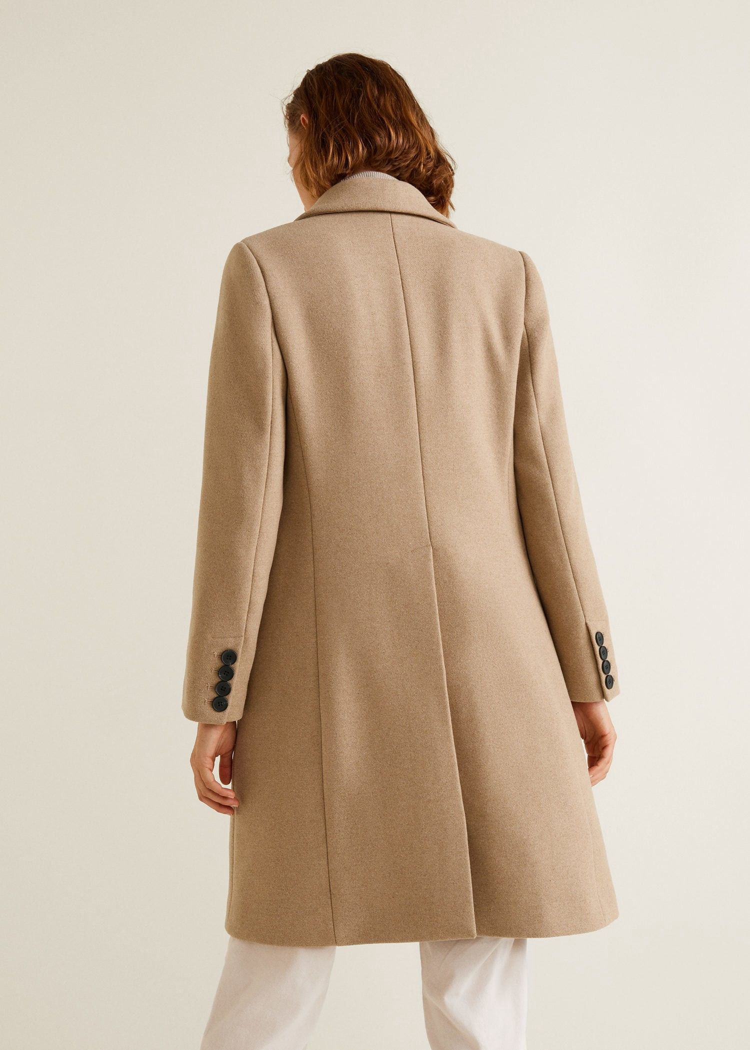 Mango Structured Wool Coat - XXS  d4033e83a