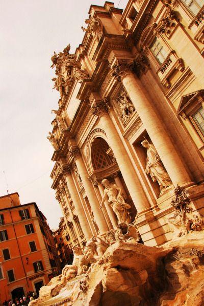 Trevi Fountain, Rome (by John Ormerod)