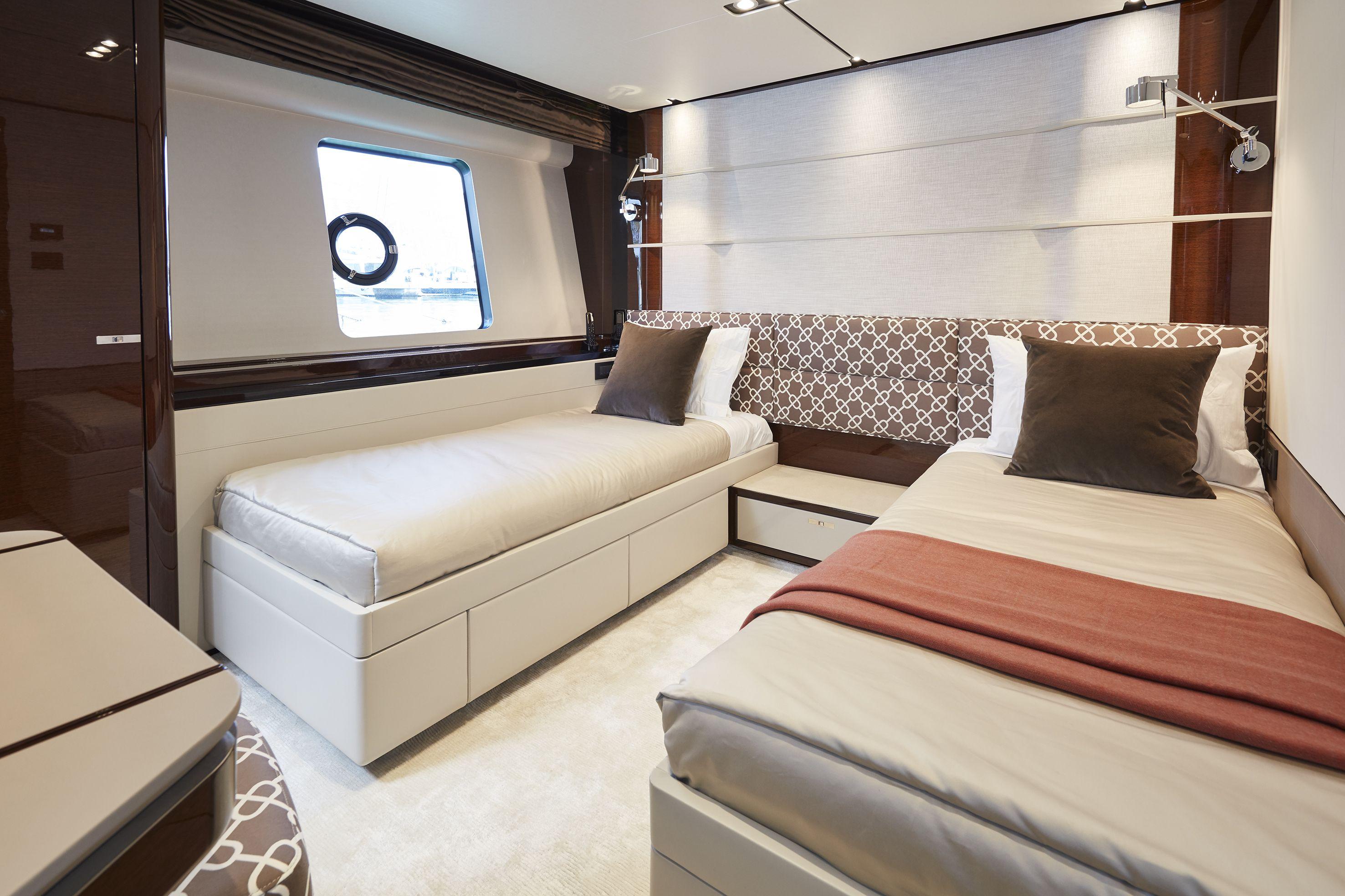 Princess 30M Forward Port Cabin mclass superyacht yacht