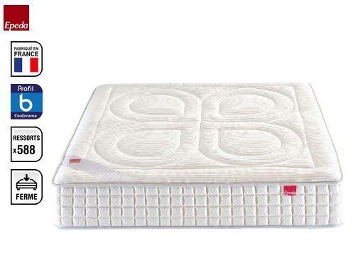 matelas ressorts 140x190 cm epeda experience conforama pinterest. Black Bedroom Furniture Sets. Home Design Ideas
