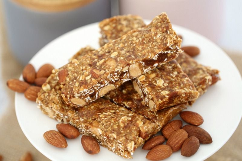 Honey date oat nut energy bars recipe energy bars