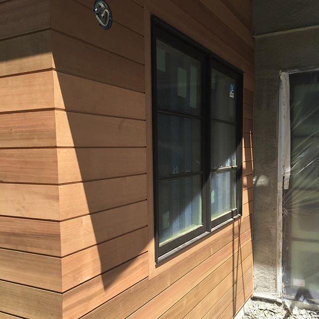 Cedar Siding Shiplap Bronze Clad Windows Lorodesigns Addisonproject House Exterior Vertical Siding Wood Siding
