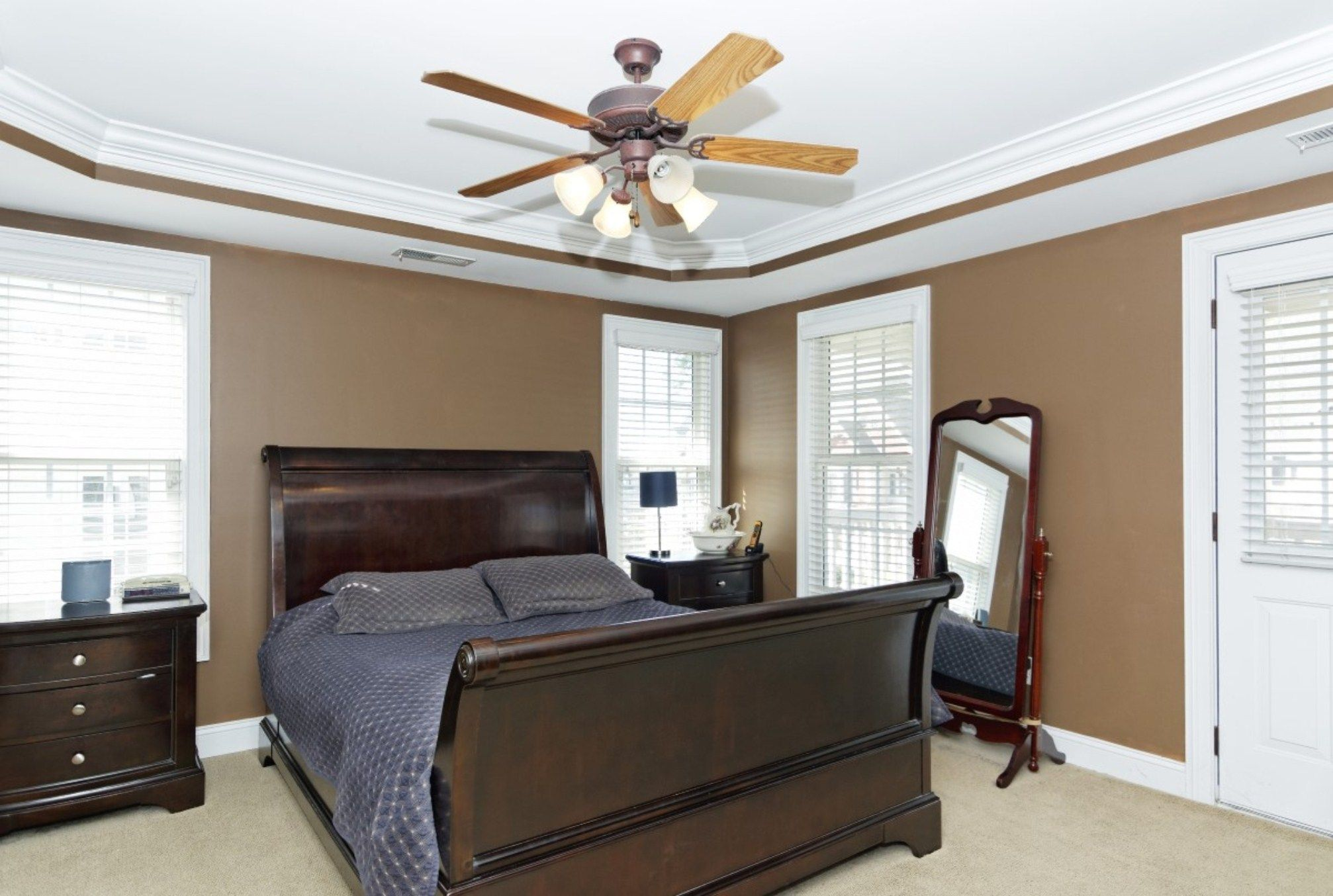 Ideas About Quiet Ceiling Fans Fan And For Bedroom Interalle Decor