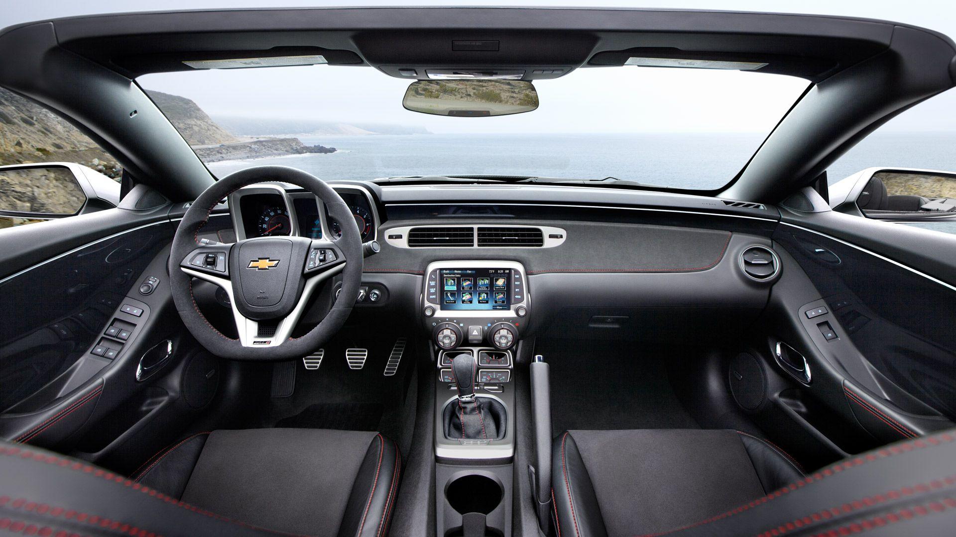 2013 Sports Cars Convertibles 2013 Chevy Camaro Zl1 Convertible Sports Car Interior Photos 2013 Camaro Interior Camaro Chevy Camaro