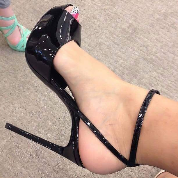 Sexy Feet High Heeled Sandals