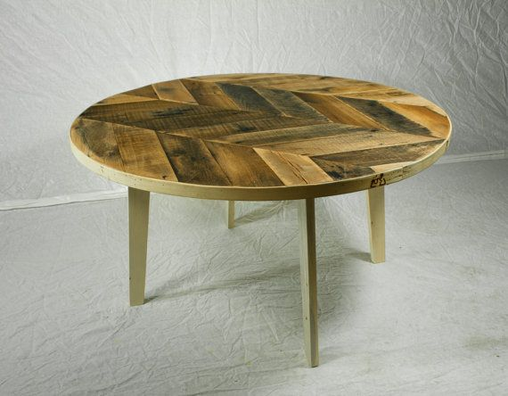Superb Round Herringbone Coffee Table In 2019 Oak Coffee Table Lamtechconsult Wood Chair Design Ideas Lamtechconsultcom