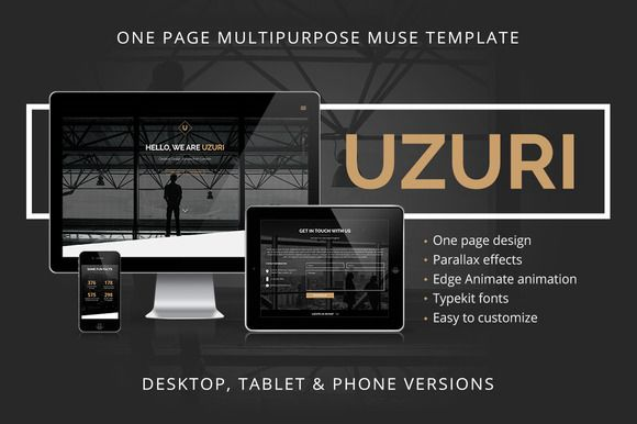 Check out Uzuri - Multipurpose Muse Template by vinyljunkie on Creative Market