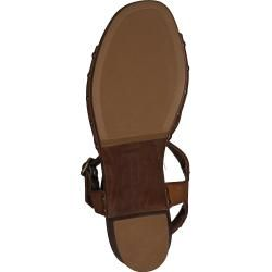 Photo of Unisa Sandals Taco Cognac Ladies Unisa