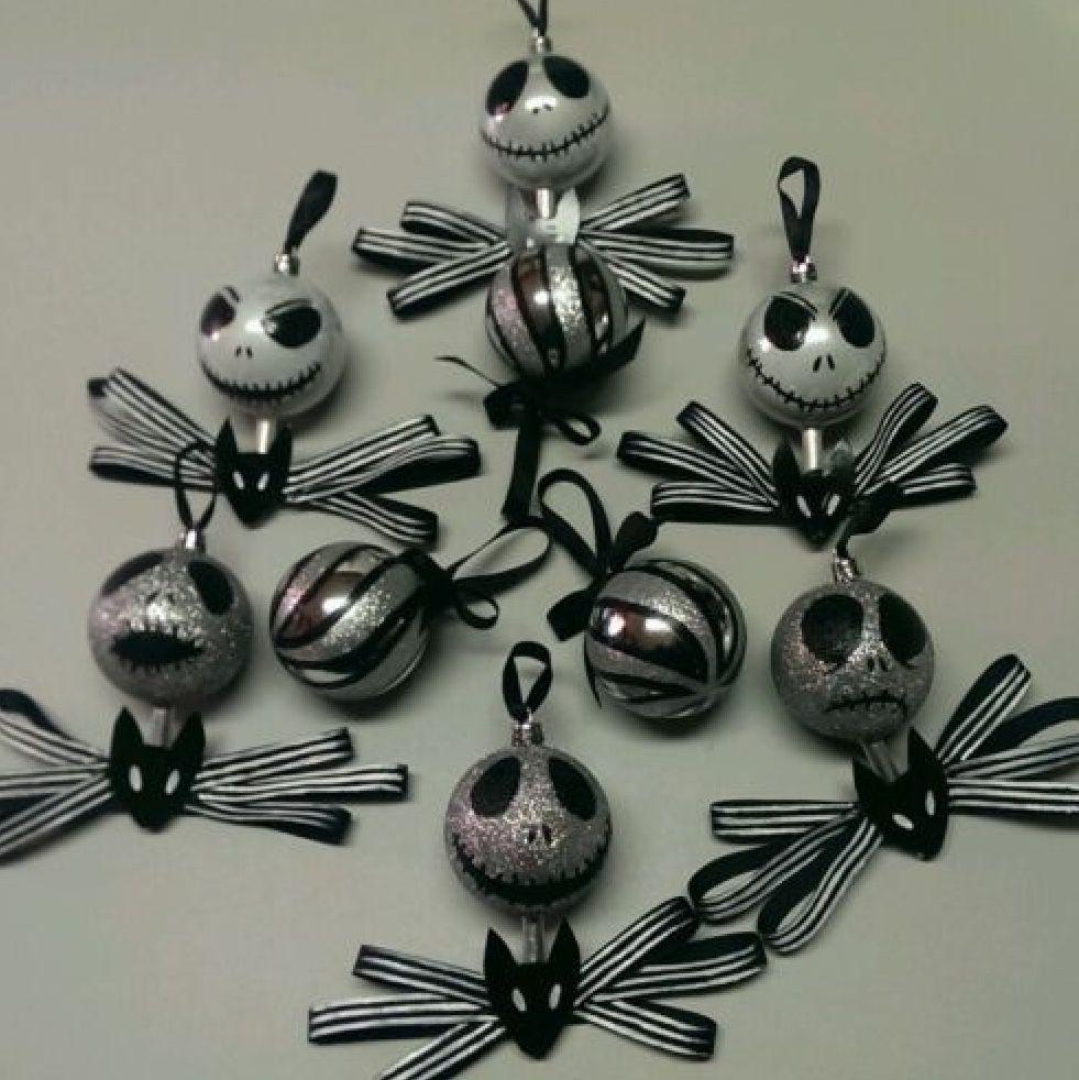 Jack ornaments | Xmas jack | Pinterest | Ornament, Jack skellington ...