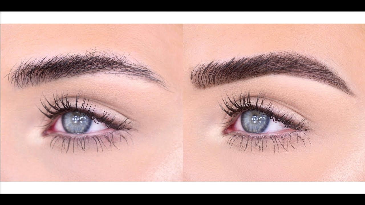 Fluffy Eyebrow Routine   Benefit Brow Products - YouTube ...