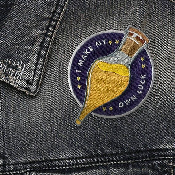 Liquid Luck Patch Pinsandpatches Patches Pin And Patches Sticker Patches Cute Patches