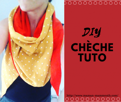 Tutoriel chèche adulte #DIY #couture #chechetutocouture