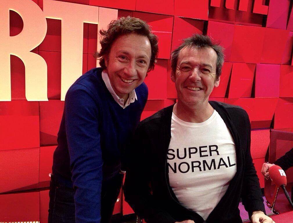 "Jean-Luc Reichmann invité de Stéphane Bern dans ""A la bonne heure"" #rtl #RueBayard #StephaneBern #jeanlucreichmann #supernormal by rtl_france"