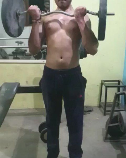#nopainnogain #fitnessmodel #nevergiveup #fitness #gym @_raj_singh_chandel_ @total_workout__