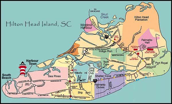 Hilton Head Island South Carolina Map.Hilton Head Island Map Pdf Hilton Head Island Sc Travel