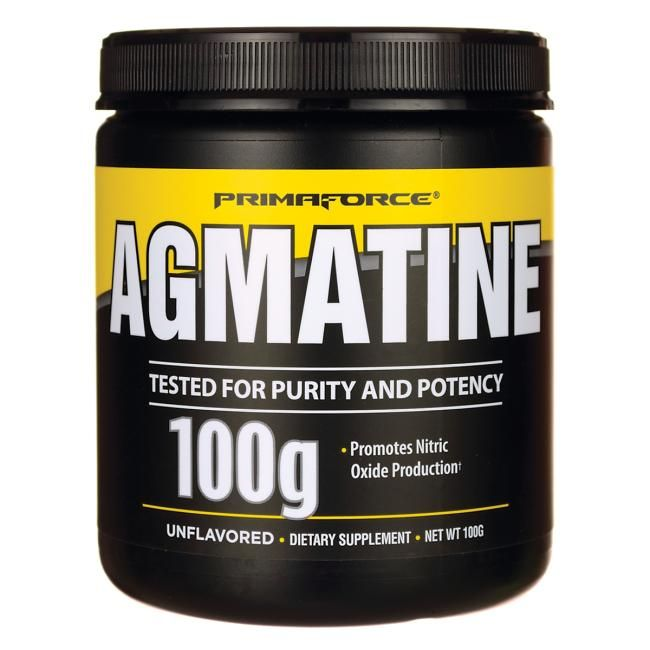 PrimaFORCE Agmatine - Unflavored | 100 G Powder | Energy in