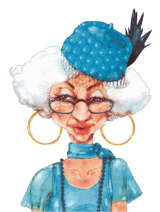 Смешные картинки бабушке