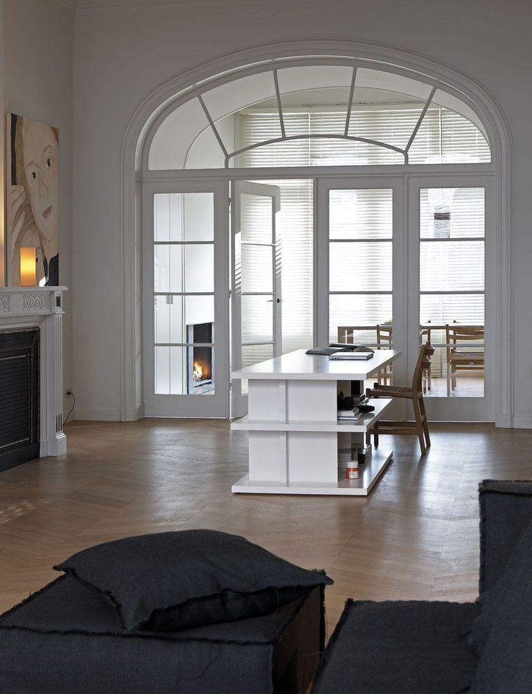 Herenhuis gerenoveerd volgens andere inspirerende aanpak for Oud herenhuis interieur