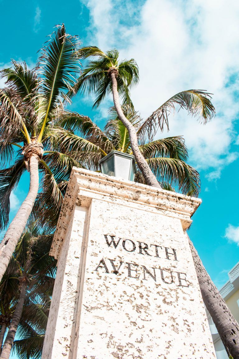 9bab0350c5eee0 Worth Avenue Entrance Marker Palm Beach Island Florida south florida  landmark monument luxury shopping destination PINTEREST