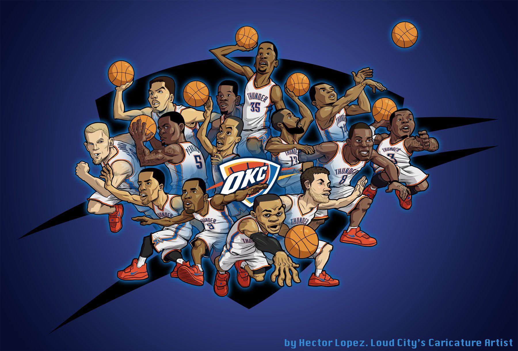 Wu Tang Vs Okc Thunder Oklahoma City Thunder Okc Thunder Thunder Basketball