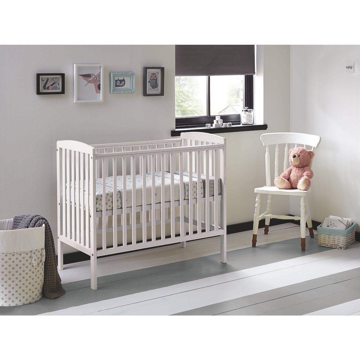 compact nursery furniture. Buy Kinder Valley Kai Compact Cot In White From Our Nursery Furniture Range Today ASDA R