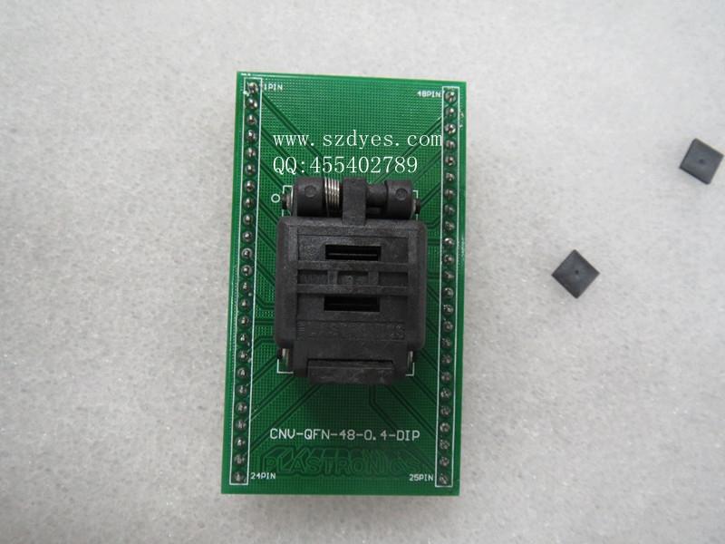 139.15$  Buy now - http://alitil.shopchina.info/1/go.php?t=32282907281 - Burning seat   Adapter  MLF48 Test bench   QFN48 seat QFN48 turn DIP  IC PROGRAMMER  #buyonlinewebsite