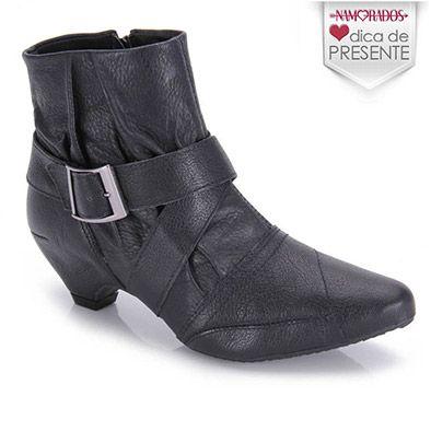 Ankle Boots Ramarim 13-57103  - Preto