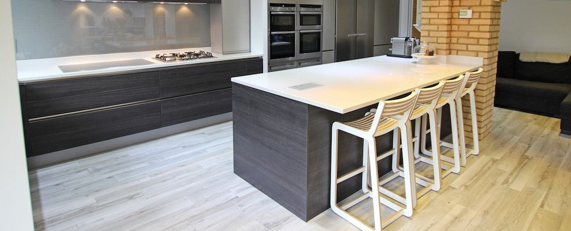 Dark Wood Island Kitchen Design  Kitchen  Pinterest  Island Inspiration Islands Kitchen Designs Review