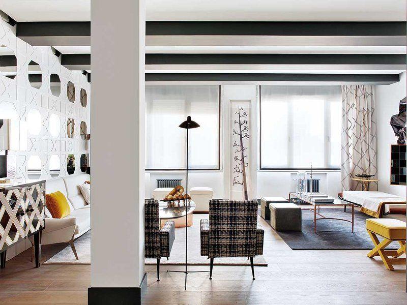 Chimeneas modernas ideas para salones modernos salones - Salones con chimeneas modernas ...