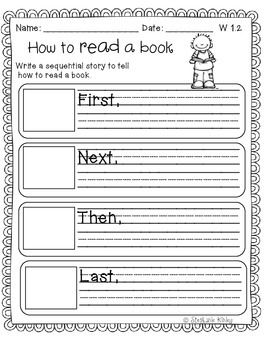 common core how to writing sequence writing first