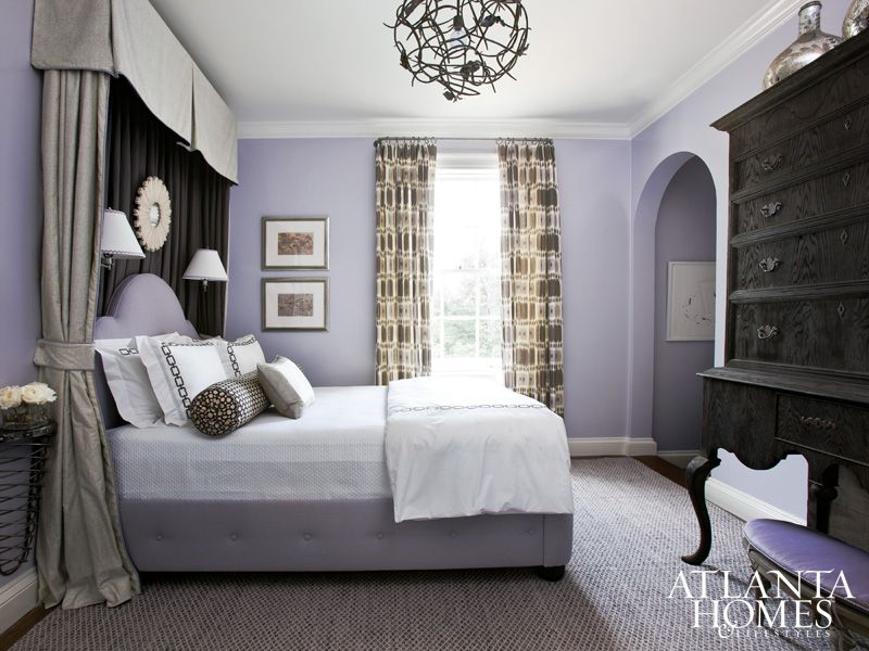 Design By Courtney Giles Decker, Courtney Giles Interiors | Photography By  Erica George Dines | · Lavender BedroomsLilac ...
