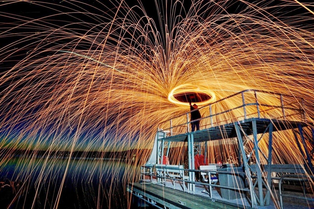 Photography Props Steel Wool Metal Fiber Shoot Fireworks
