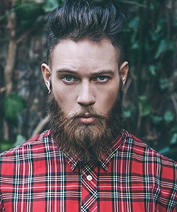 Lumbersexual hair products