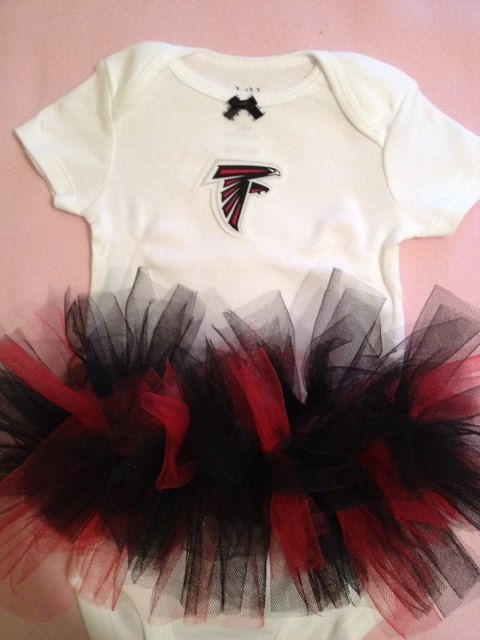 online store f2149 4e9c4 NFL Atlanta Falcons Tutu Dress. | Baby stuff♡ | Pinterest