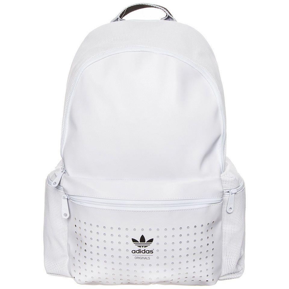 adidas originals rucksack mit kontrast-reißverschluss
