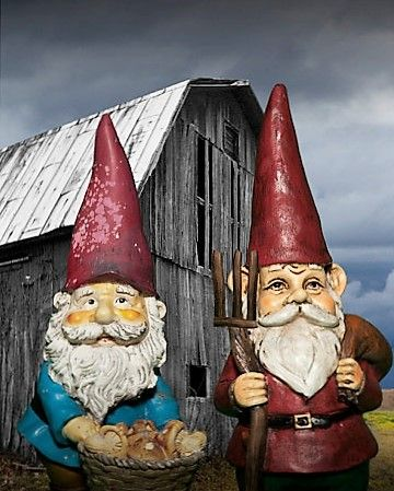 Etonnant Gothic Garden Gnomes