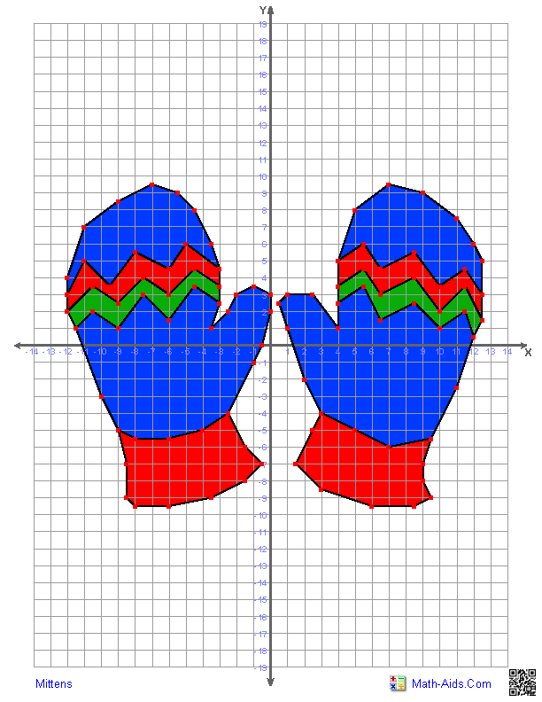 Mittens Plus A Wide Variety Of Additional Coordinate Graphing Pictures Free You Can Also Graphing Worksheets Christmas Math Worksheets Coordinate Graphing